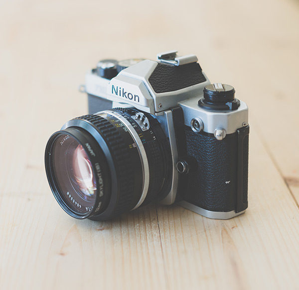 Retro-Analogue-Nikon-FM2-Film-Camera-Front_